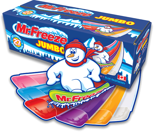 Mr Freeze Jumbo 150ml 70 - Snacks - Tevan Enterprises, Ltd. - Tevan Enterprises Confectionary