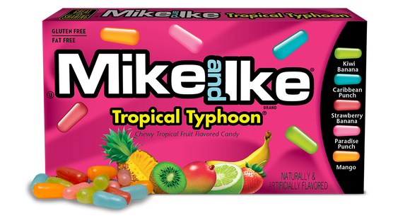 Mike&Ike Tropical Typhoon 141g 12/case