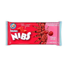 Twizzler Nibs Cherry 75g 24ct