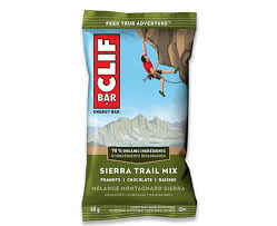 Clif Sierra Trail Mix Bar 68g 12's
