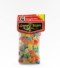 King Henry Sour Gummy Bears 269g, Snacks, King Henry, [variant_title] - Tevan Enterprises