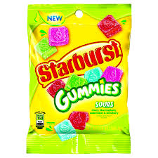 Starburst Sour Gummies 191g 12's, Candy, Wrigley, [variant_title] - Tevan Enterprises