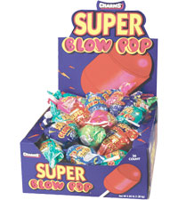 Charms Super Blow Pops 32g 12/36