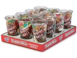 Super Mix Candy Cup Gummy 12/400g