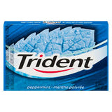 Trident Sugarless Pellet Peppermint 12's