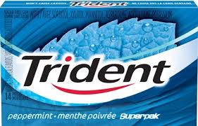 Trident Superpack Peppermint 12/12