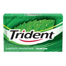 Trident Superpack Spearmint 14pc 12's