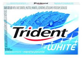 Trident White Peppermint 12s