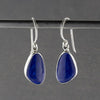 lapis lazuli sterling silver drop earrings