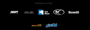 Logos of Moped and Motorcycle Brands
