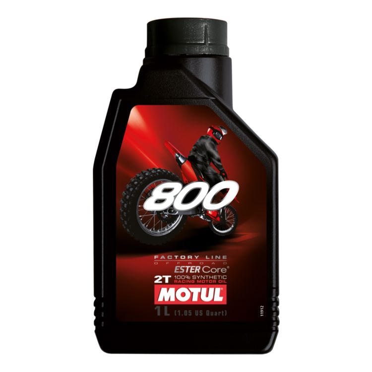 Motul 800 2T Factory Line Off Road Racing Synthetic Oil
