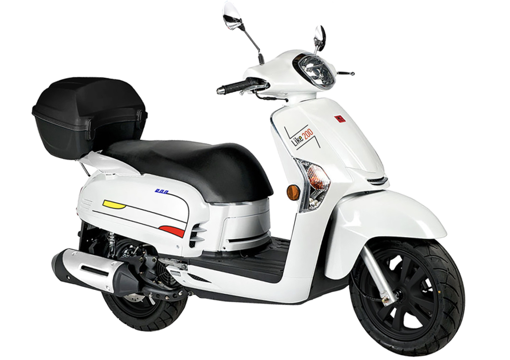 Kymco Like 200i Limited Edition