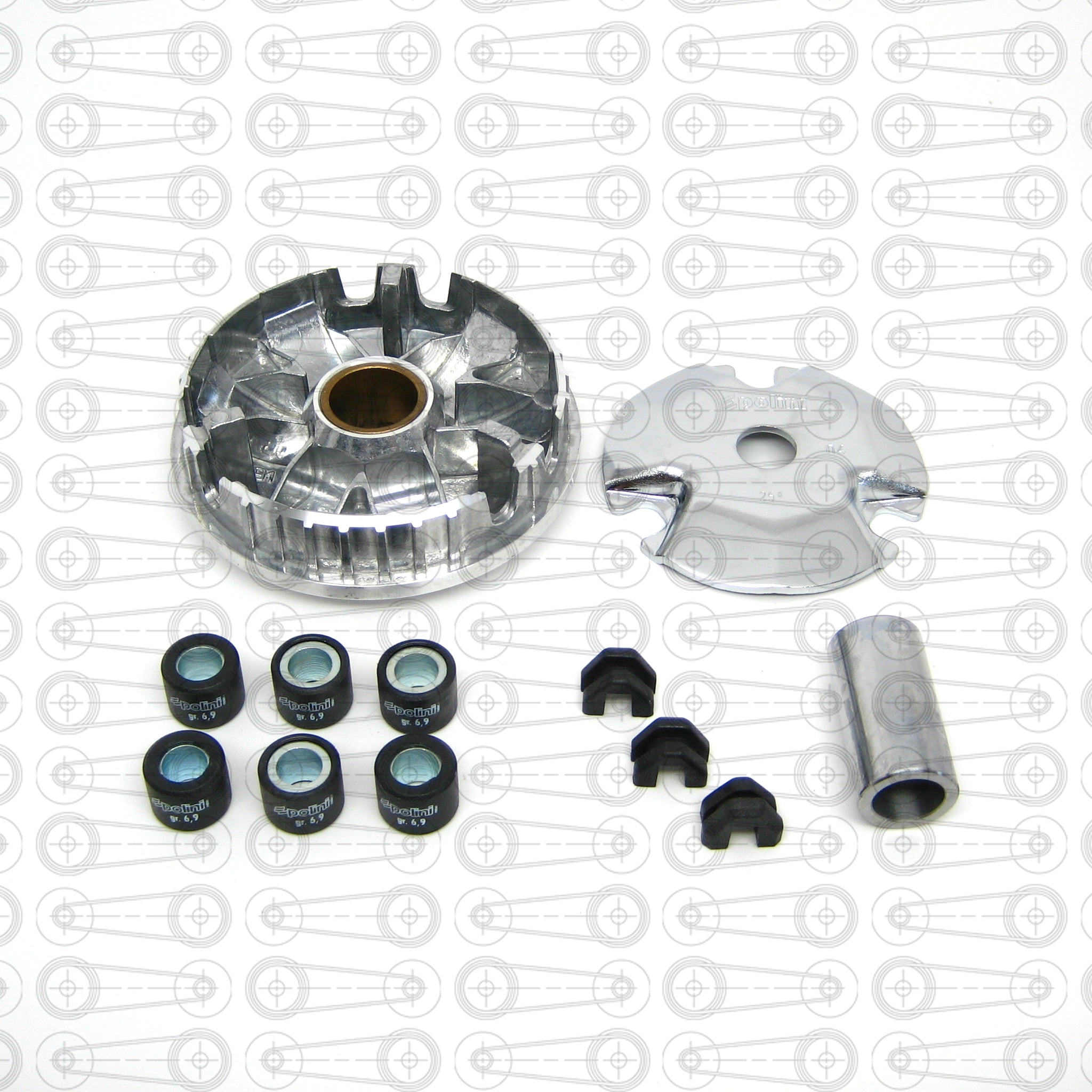 POLINI - HI-SPEED VARIATOR KIT (DIO/QMB)