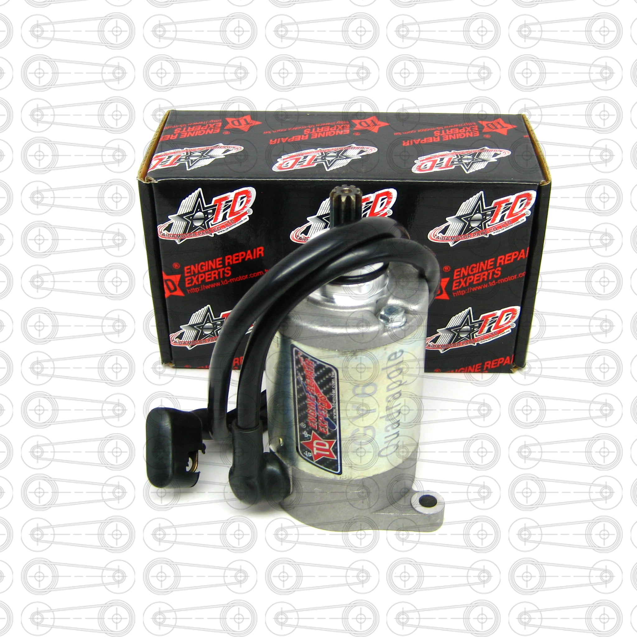 TAIDA - QUADRUPLE HIGH TORQUE STARTER (GY6)