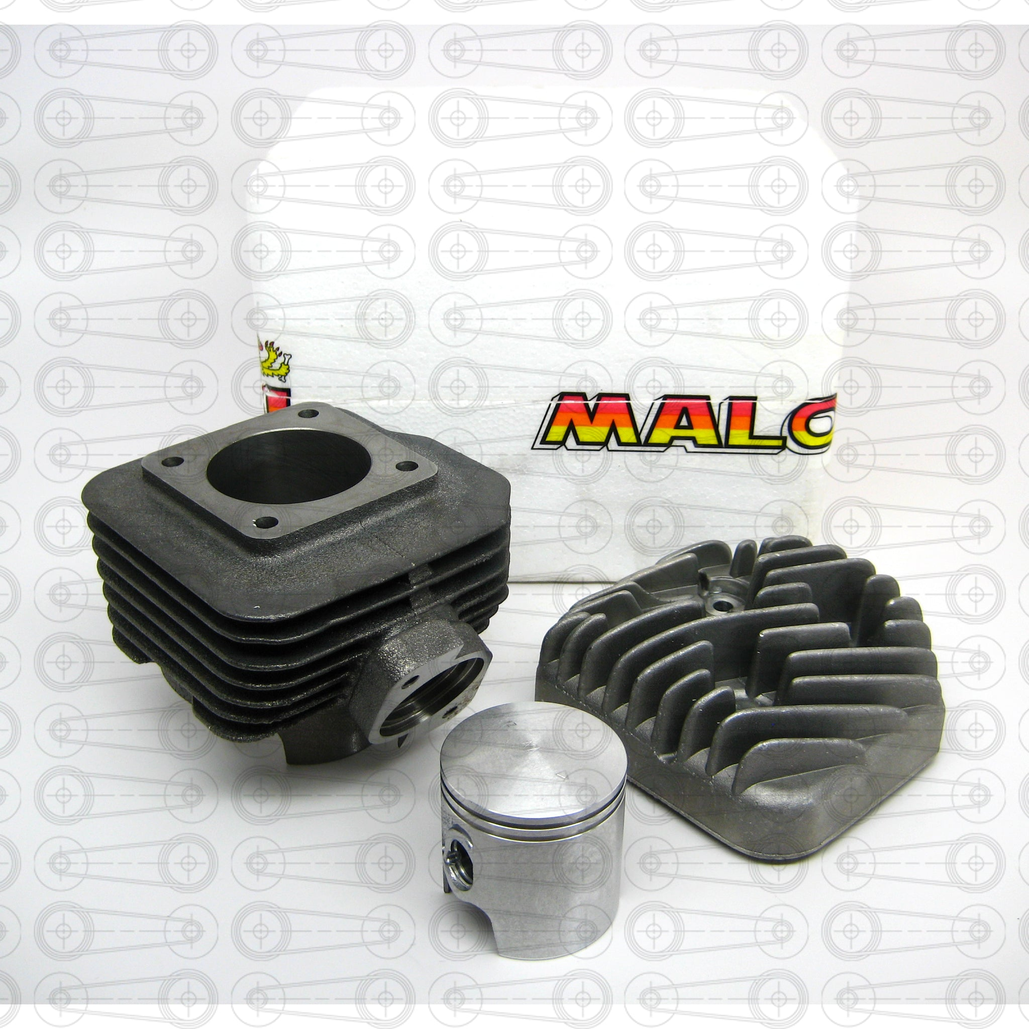 MALOSSI - 72cc CAST IRON CYLINDER KIT - (QMB)