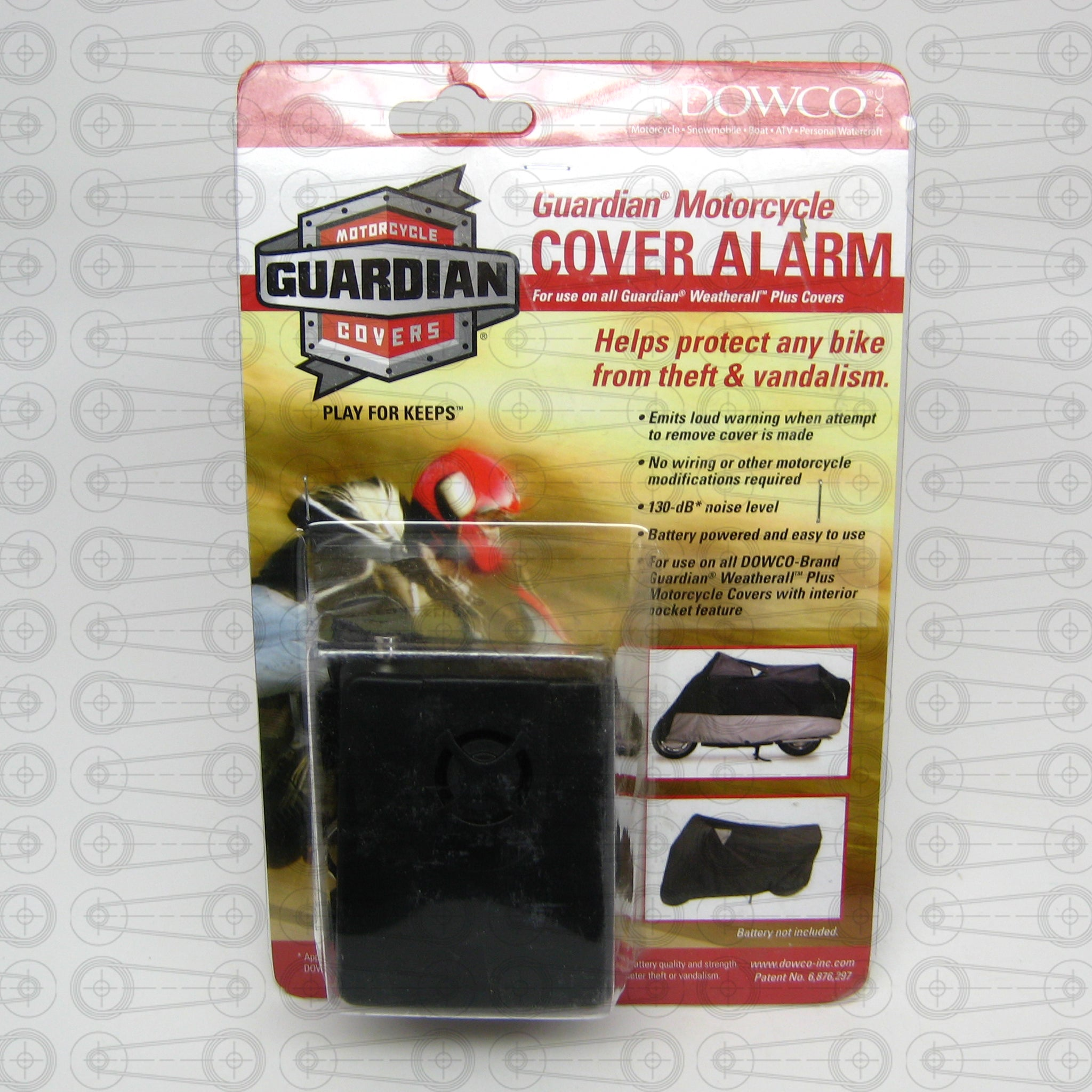 Dowco - Guardian Motorcycle Cover Security Alarm