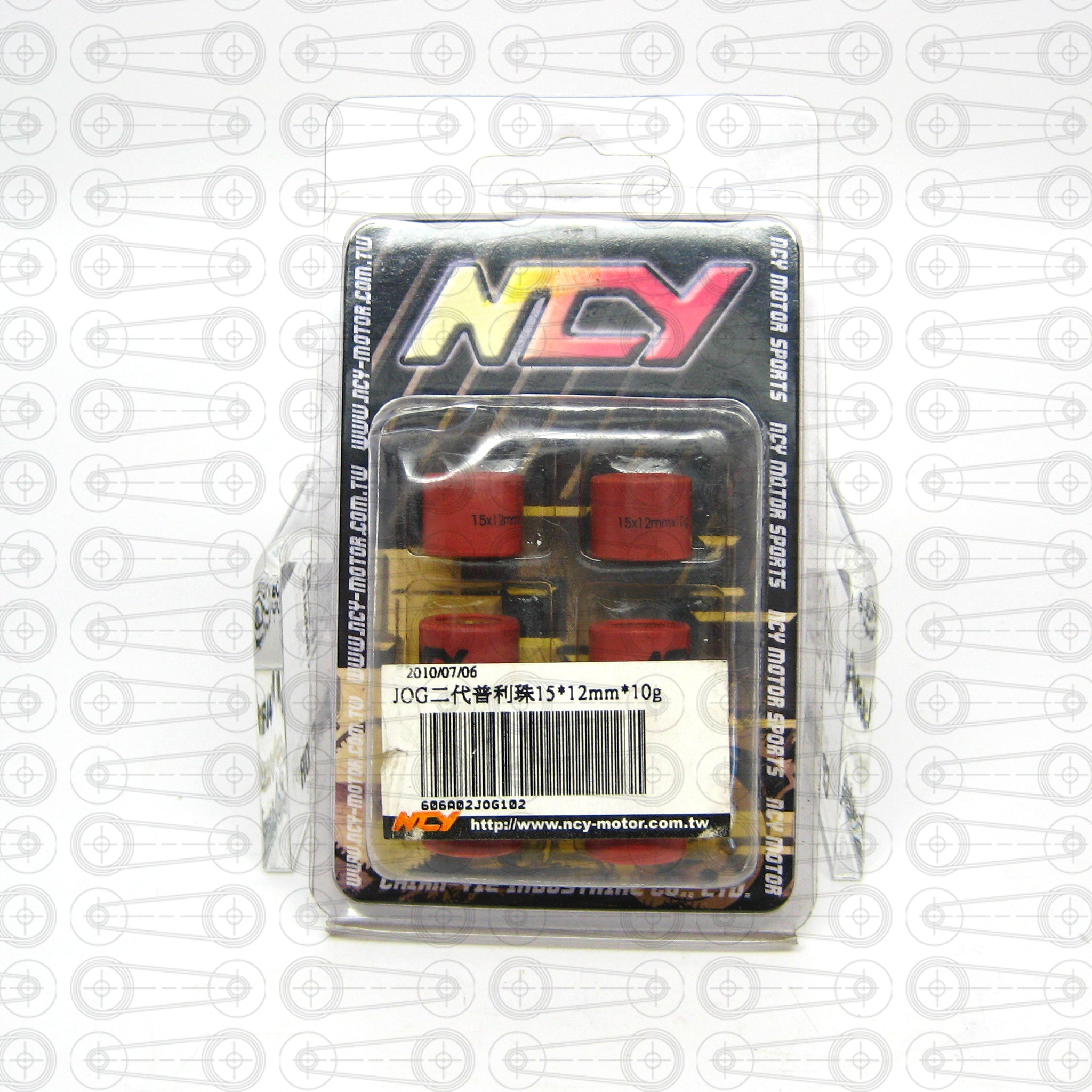NCY - ROLLER WEIGHTS (JOG)