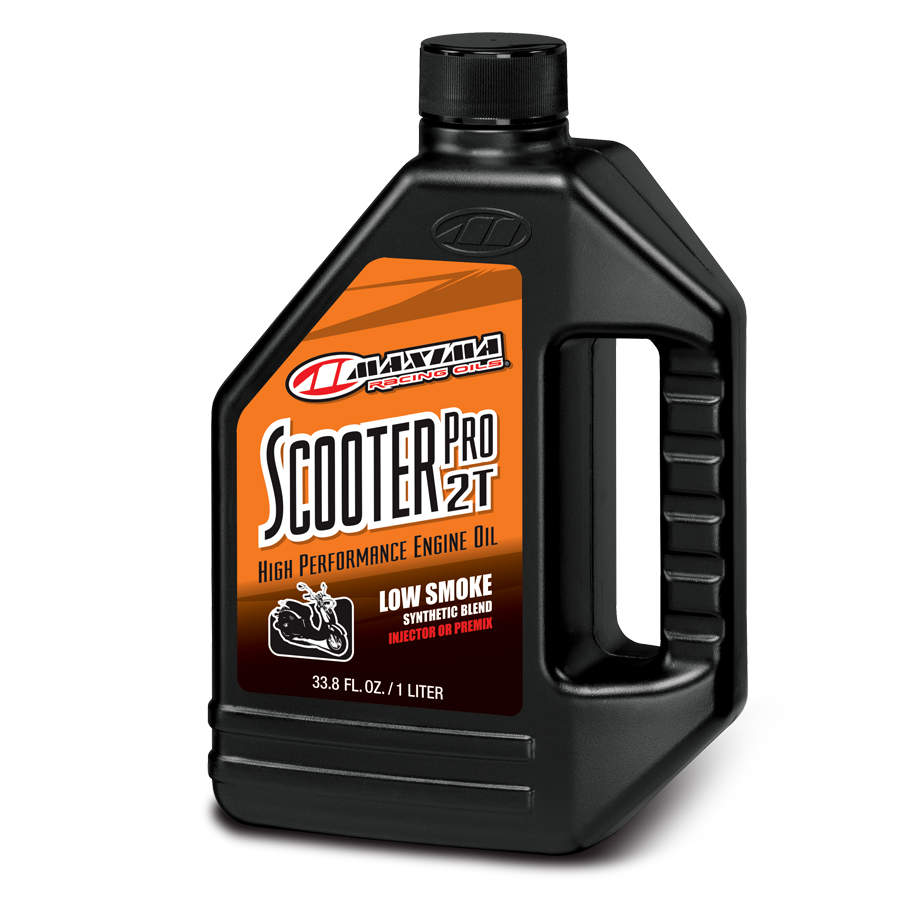 Maxima Scooter Pro 2T Semi-Synthetic Racing Oil