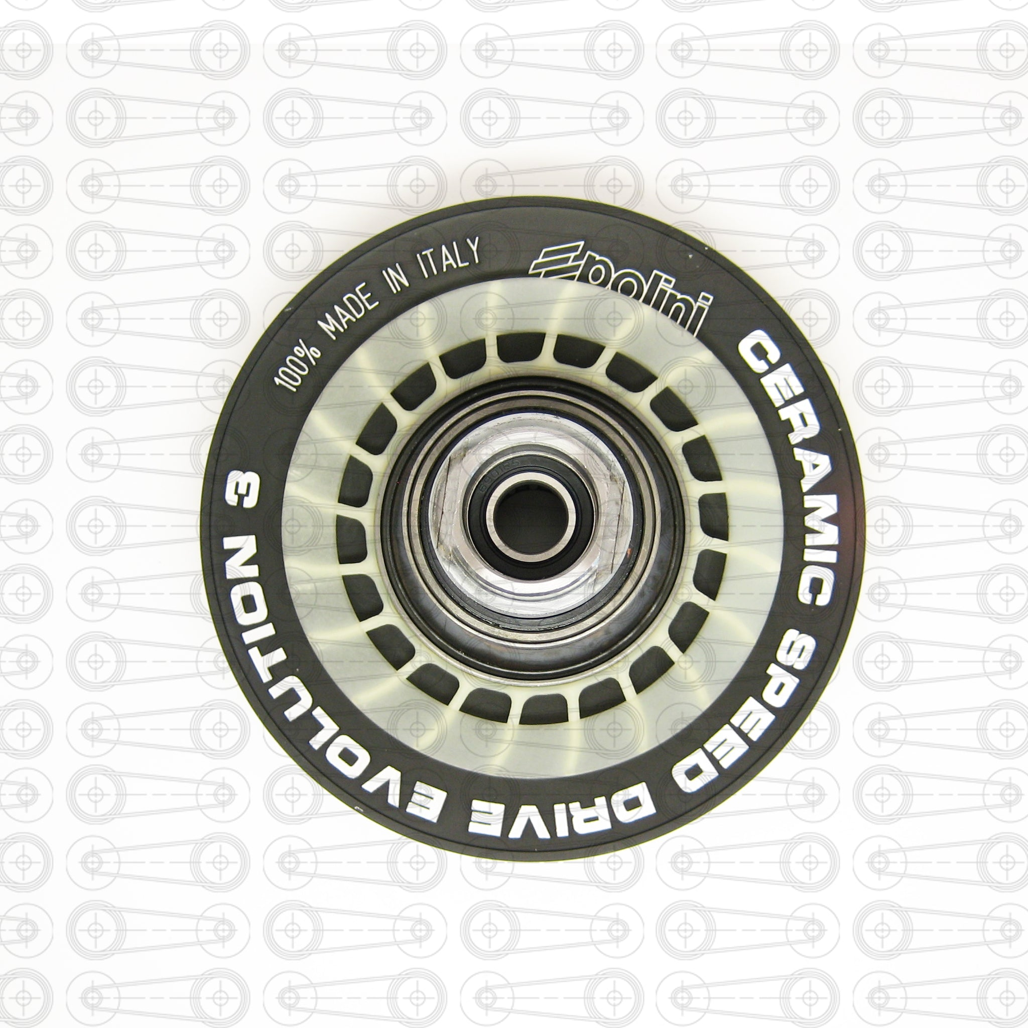 POLINI - EVOLUTION 3 - REAR PULLEY (YAMAHA)