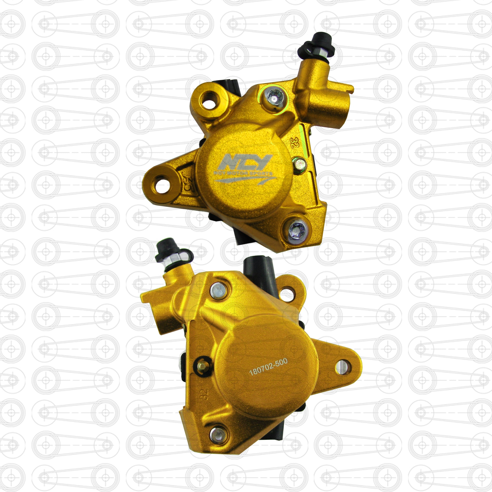 NCY - BRAKE CALIPER (Yellow)