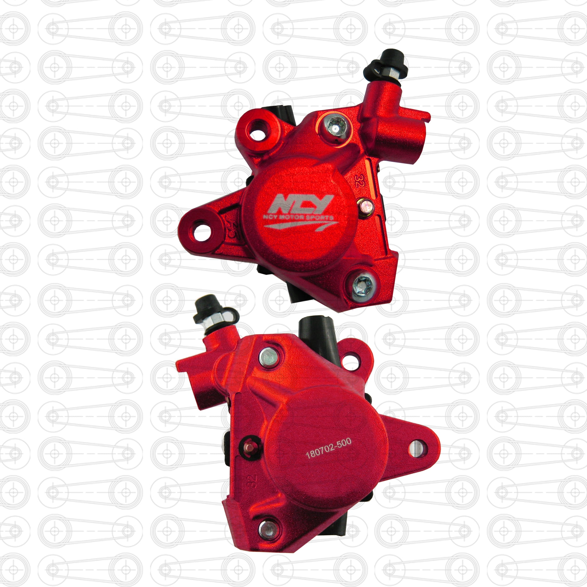 NCY - BRAKE CALIPER (Red)