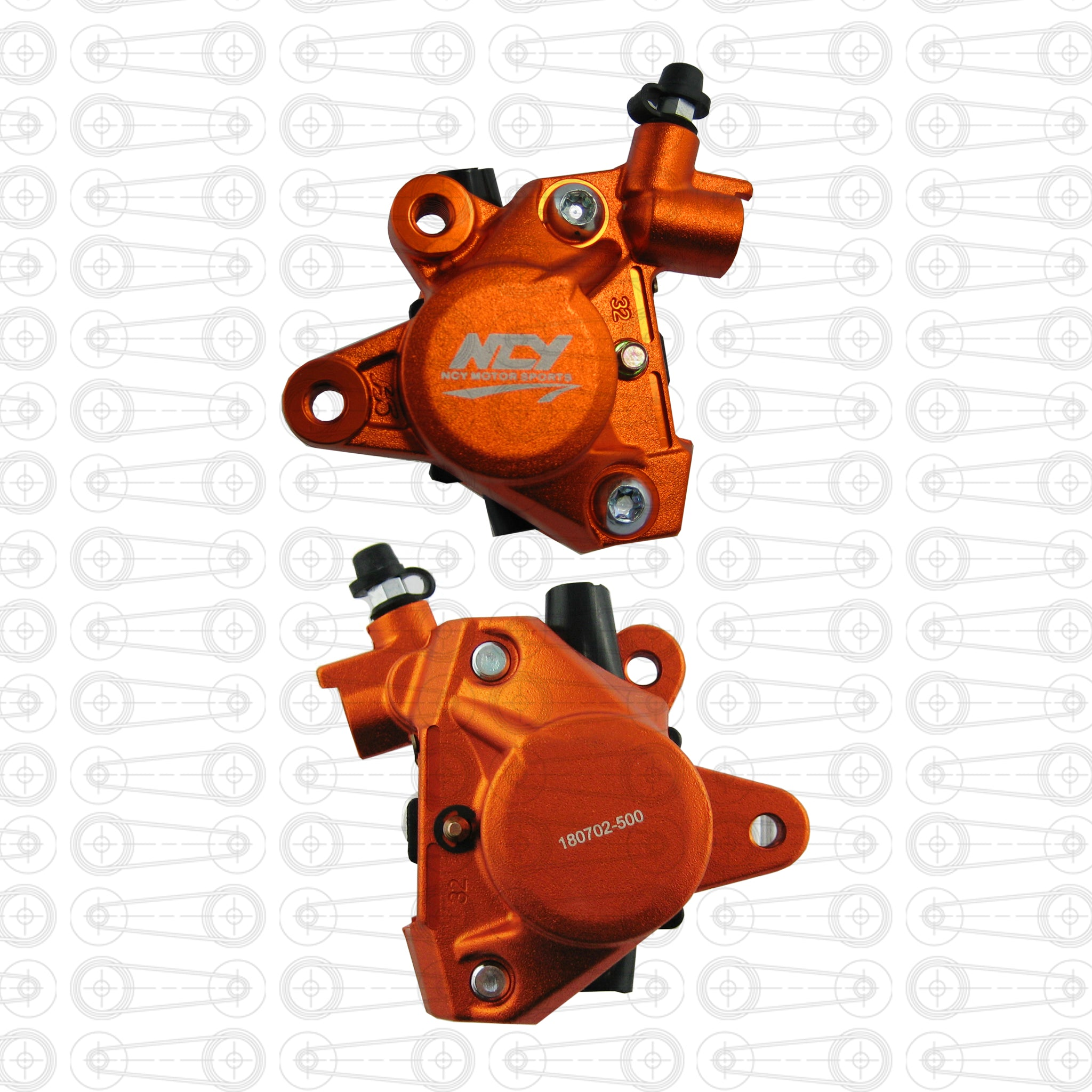 NCY - BRAKE CALIPER (Orange)
