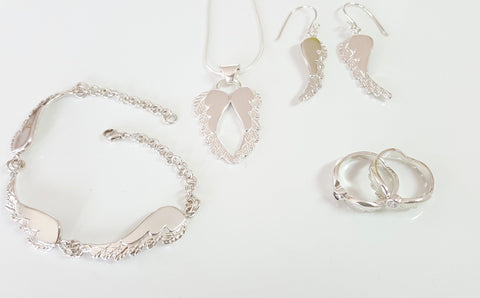 Owl Angel Wings Jewellery