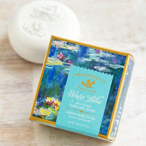 Monet Water Lilies Gift Soap
