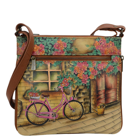 Expandable Travel Crossbody - Vintage Bike