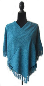Cotton Chenille Poncho