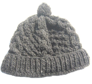 Fleece-Lined Wool Hat