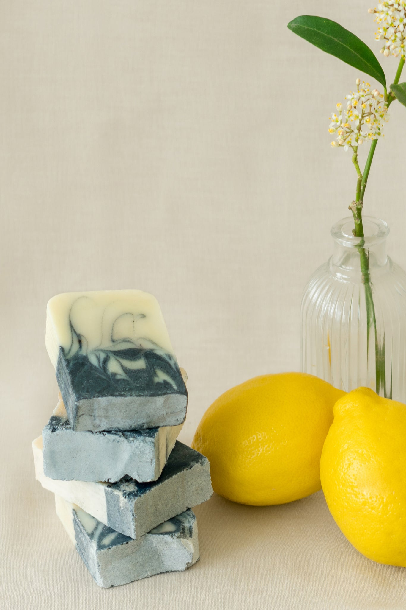 Shan Shui Bar Soap in Indigo & Peppermint Lemon