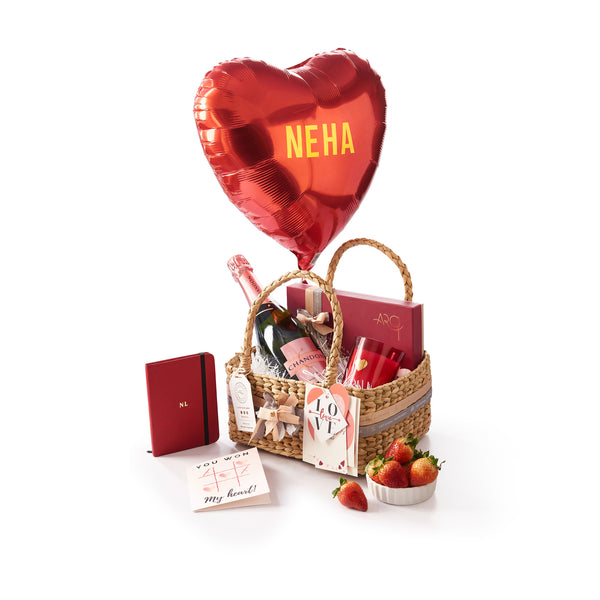 Valentine Hamper with Chandon