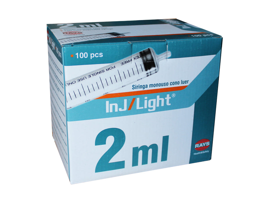 2ml syringes box of 100 for sale in UK