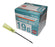19g x 25mm hypodermic needle injection sterile  medical