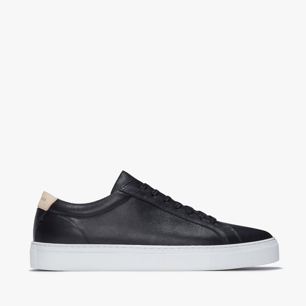 Uniform Standard Series 1 Black Minimal Leather Sneaker