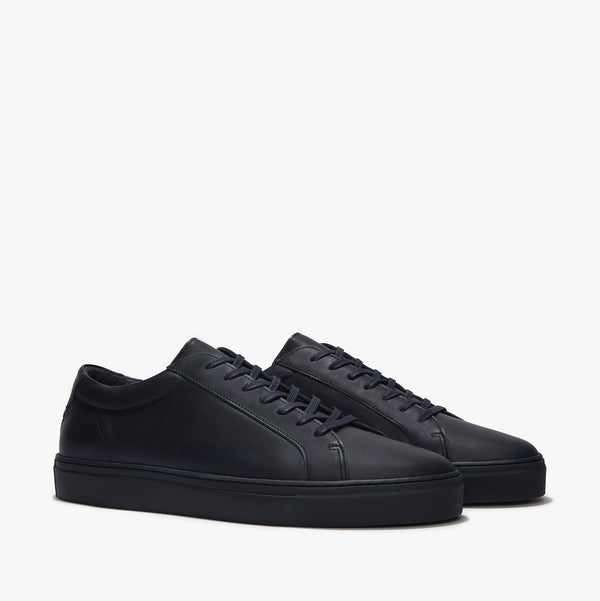 Uniform Standard Series 1 Triple Navy Minimal Leather Sneaker
