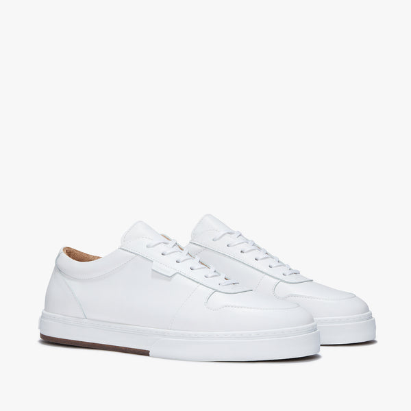 Uniform Standard Series 6 White Leather Minimal Sneaker