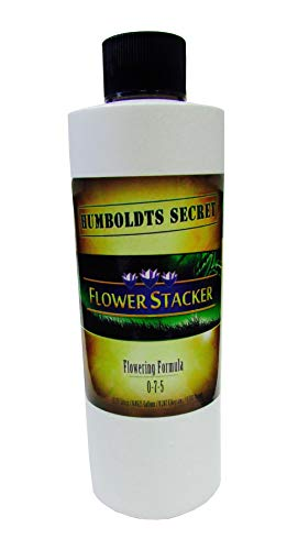 Humboldts Secret Best Flowering Plant Food Flower Stacker - Let Your Flowers Mature to Their Maximum Potential (8 Ounce)