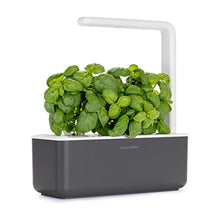 Load image into Gallery viewer, Click & Grow Smart Garden 3 Indoor Gardening Kit (Includes Basil Capsules), Grey