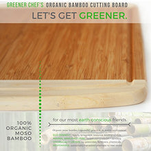 Load image into Gallery viewer, Extra Large Organic Bamboo Cutting Board for Kitchen - NEW CRACK-FREE DESIGN - Best Wood Chopping Boards w/ Juice Groove for Carving Meat, Wooden Butcher Block for Vegetables & Serving Tray for Cheese