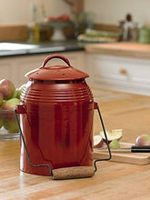 Load image into Gallery viewer, Gardener's Supply Company Rustic Kitchen Compost Crock