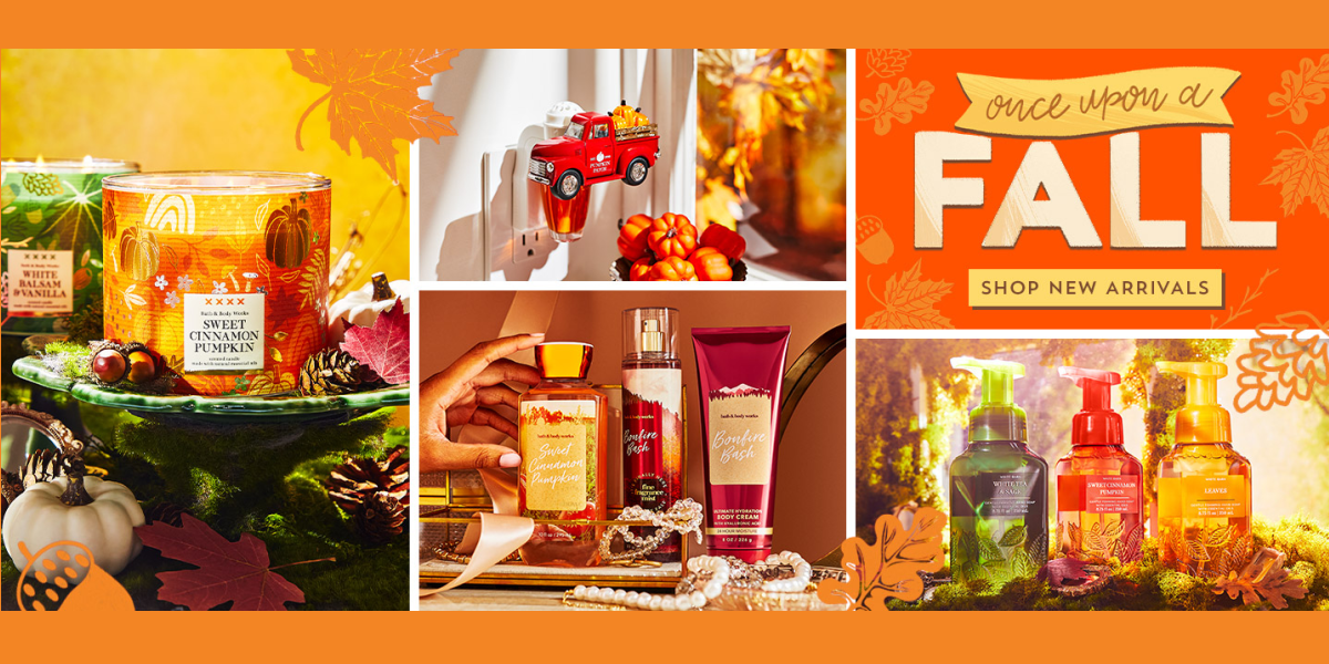 Bath and Body Works Fall New Arrivals