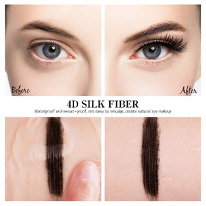 Eye Makeup | 4D Silk Fiber Eyelash Mascara