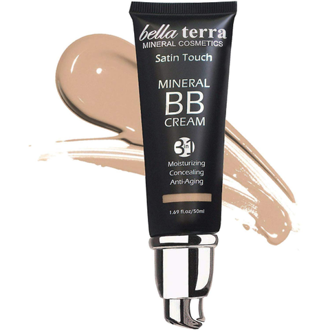Bella Terra BB Cream Tinted Moisturizer Mineral Foundation