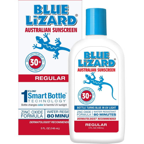 Blue Lizard Regular Mineral Based Sunscreen Original Australian Formula SPF 30