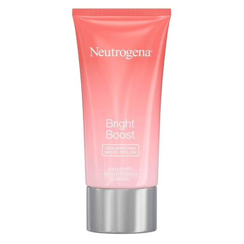 Neutrogena Bright Boost Face Micro Polish Pack of 2