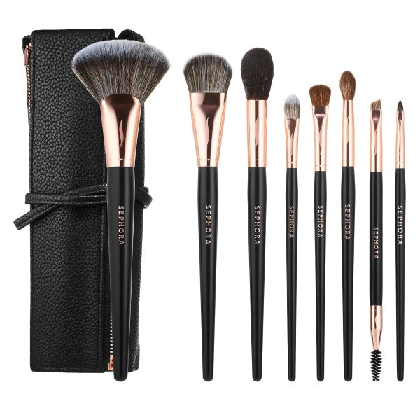 Makeup Brushes | Sephora Collection Roll It Up PRO Brush Set