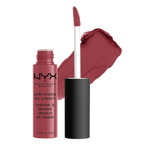 NYX PROFESSIONAL MAKEUP Soft Matte Lip Cream Deep Mauve With Red Undertone