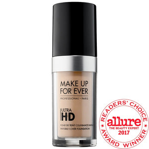 MAKE UP FOR EVER Ultra HD Invisible Cover Foundation | Makeup My Way